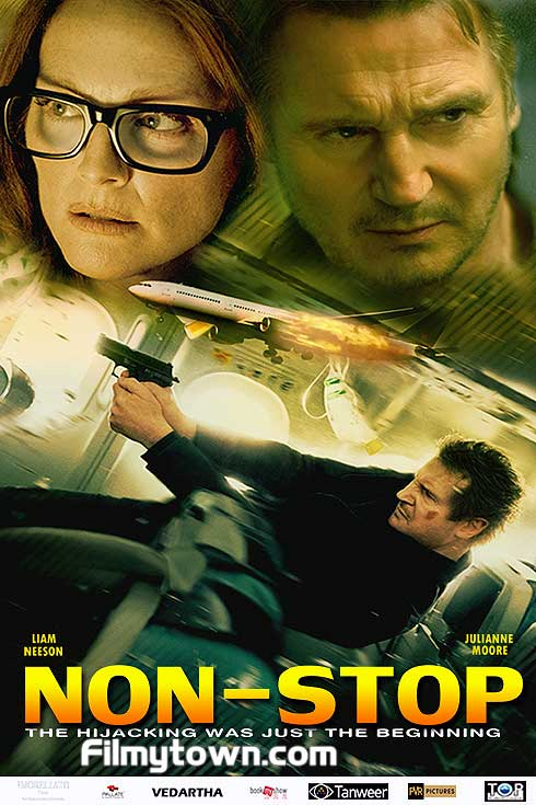 Non-Stop - Film review Liam Neeson Julianne Moore Scoot ... Liam Neeson Movies