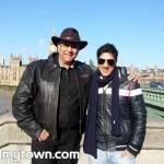 Rahul Choudhary with Puneet Issar