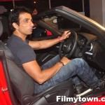 Sonu Sood trying the Audi A3