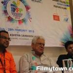 Dhiraj Mishra, Om Puri and Hasan Haider