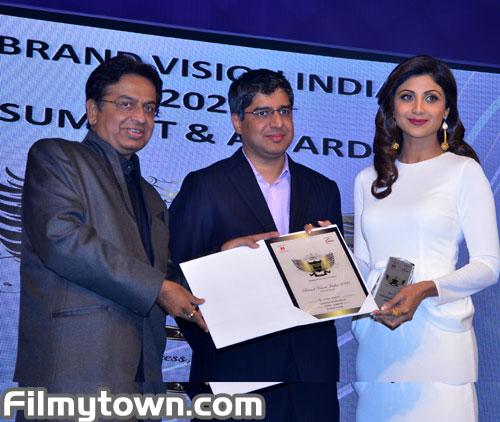 Shilpa Shetty at Brand Vision 2020 India