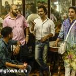 Farah Khan, Nawazuddin Siddiqui at Merwan cafe