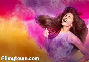Deepika Padukone celebrates Holi