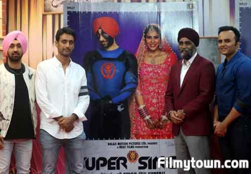 Super Singh poster launch