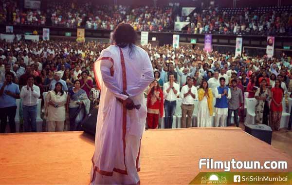 Kabir Bedi at Sri Sri Ravishankar's Empower event
