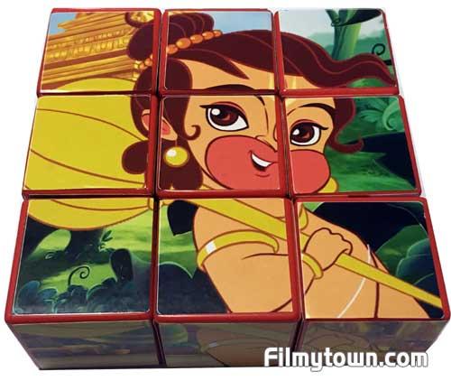 Hanuman Cube puzzle book
