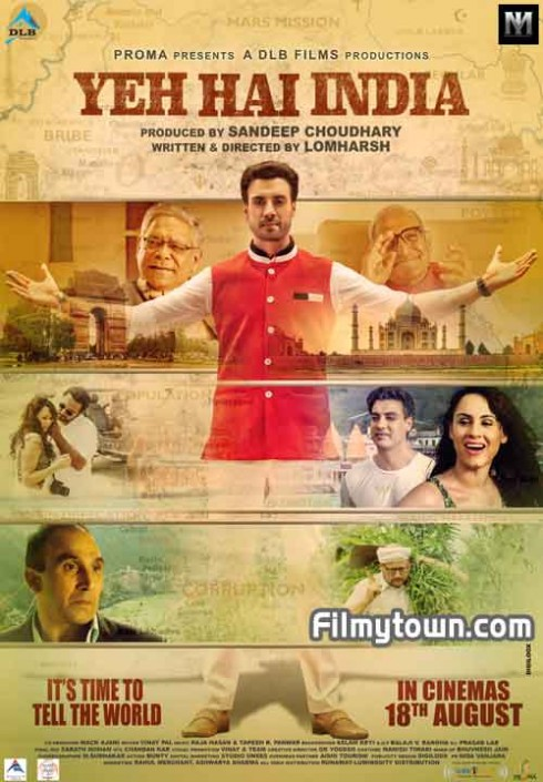 Yeh Hai India poster for Festival of Globe