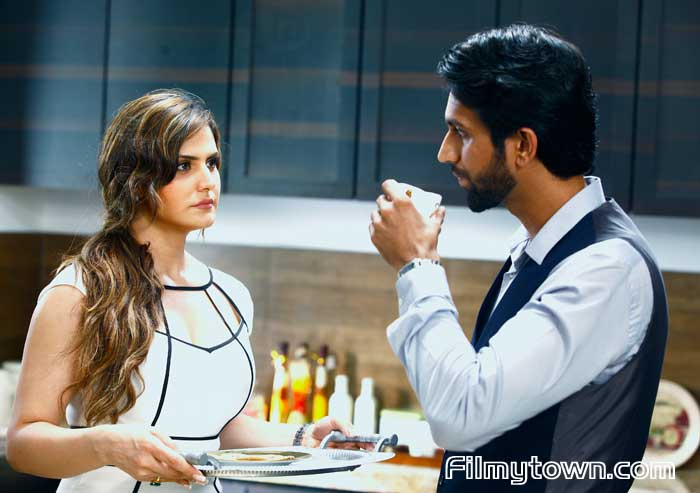 Zareen Khan and Mohit Madaan in Aksar 2